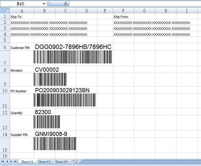 EasierSoft - Bulk Barcode Generator Software - Permanent